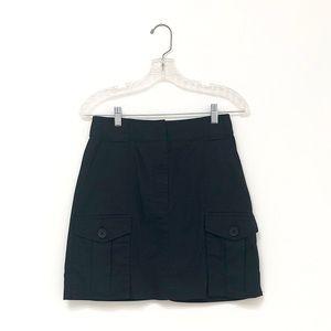 Banana Republic Navy Utility Mini Skirt / 2-4